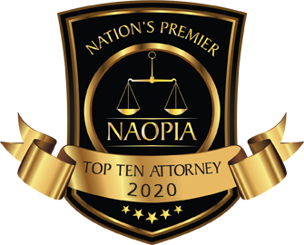 Joe Patton awarded Top 10 Attorney Award for Excellance